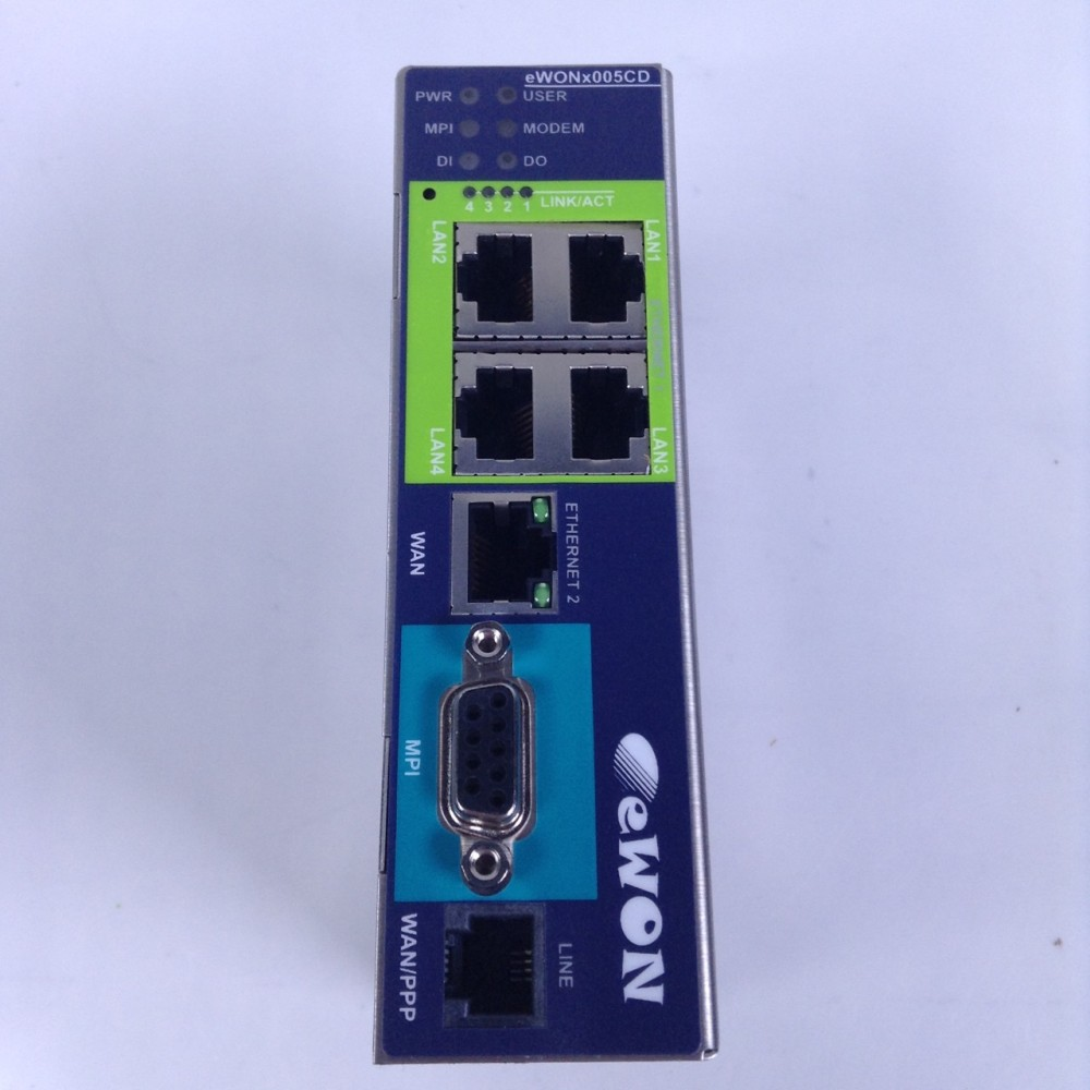 Ewon SA EWON--2005CD/MPI/PSTN Industrial LAN Router NFP