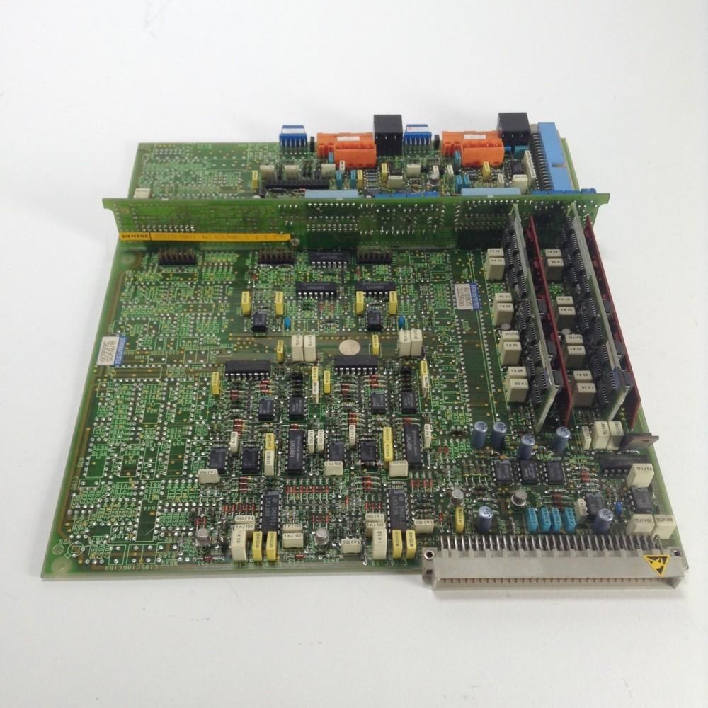 Siemens 6SC6100-0NA11 simodrive analog control board PLC +