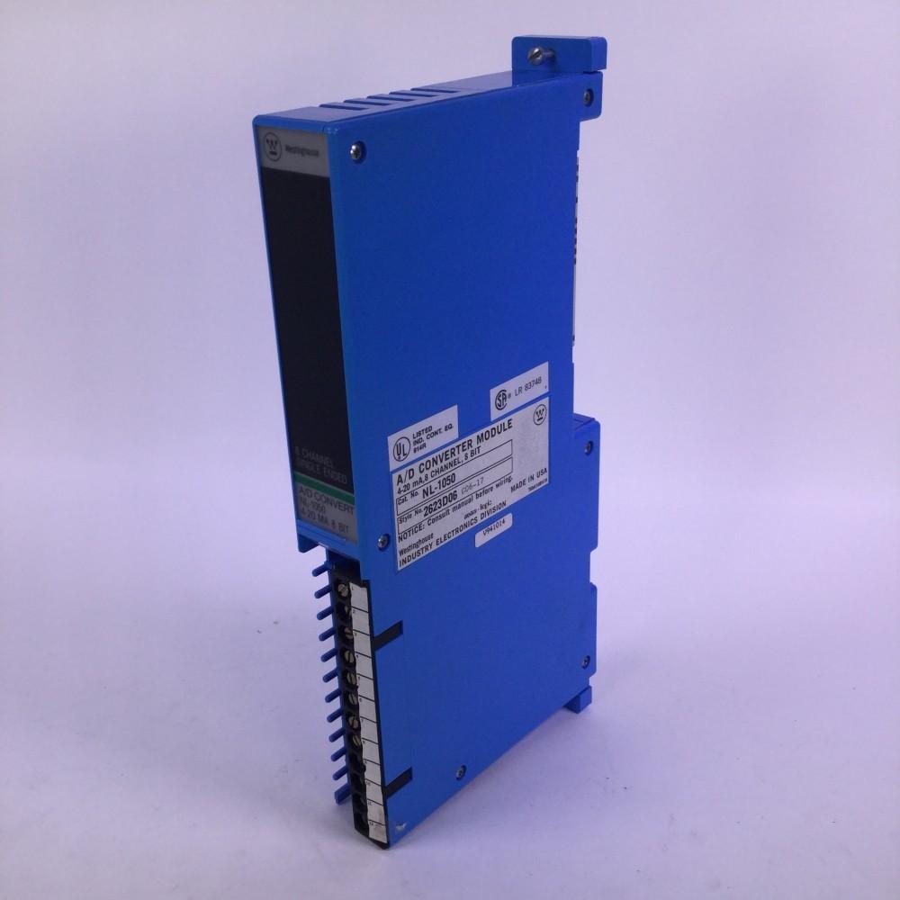 Westinghouse NL-1050 A/D converter module 8 channel 8 BIT UMP