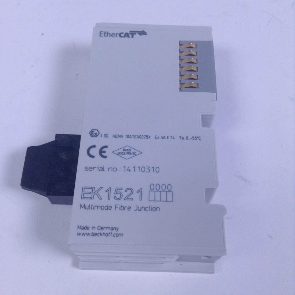 Beckhoff EK1521 EtherCAT multimode highsp Ethernet 14110310 NFP