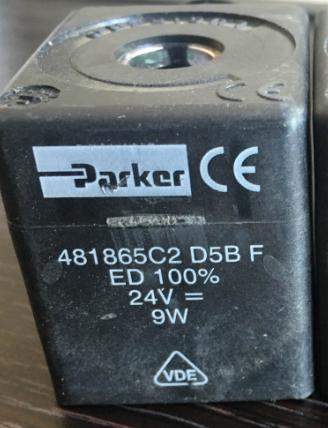 Parker 481865c2 D5b F Ed 100 24v 9w Nmp