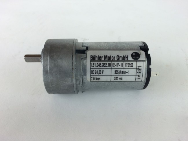 B 252 Hler Motor 1 61 046 332 10 24v 7ncm 335rpm