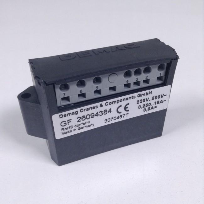 Demag 26094384 Brake Control Gf 0 8a Crane Spare Parts Nmp