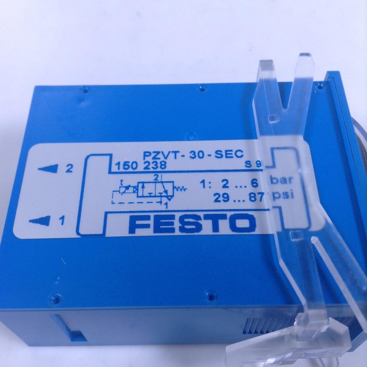 NEW FESTO PZVT-30-SEC TIMER 2-30 SECONDS 29-87PSI PN# 150238