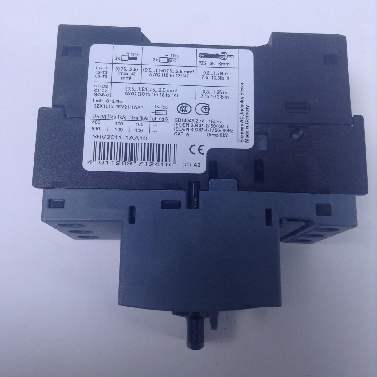3RV2011-1AA10 Siemens Leistungsschalter