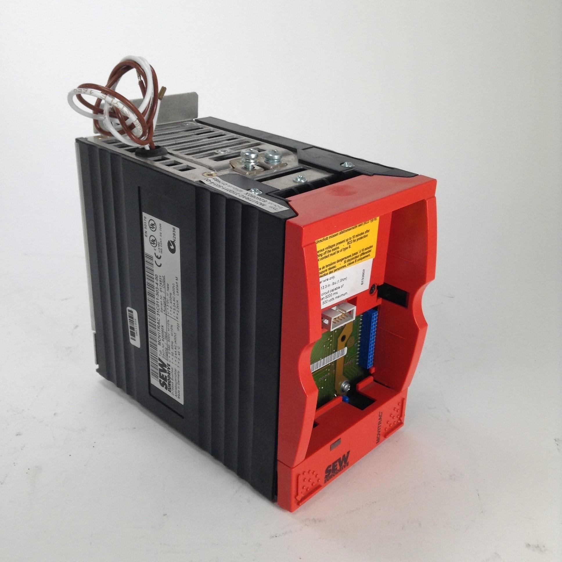 Sew Eurodrive 31C011-503-4-00 Movitrac Antriebsumrichter drive Used UMP
