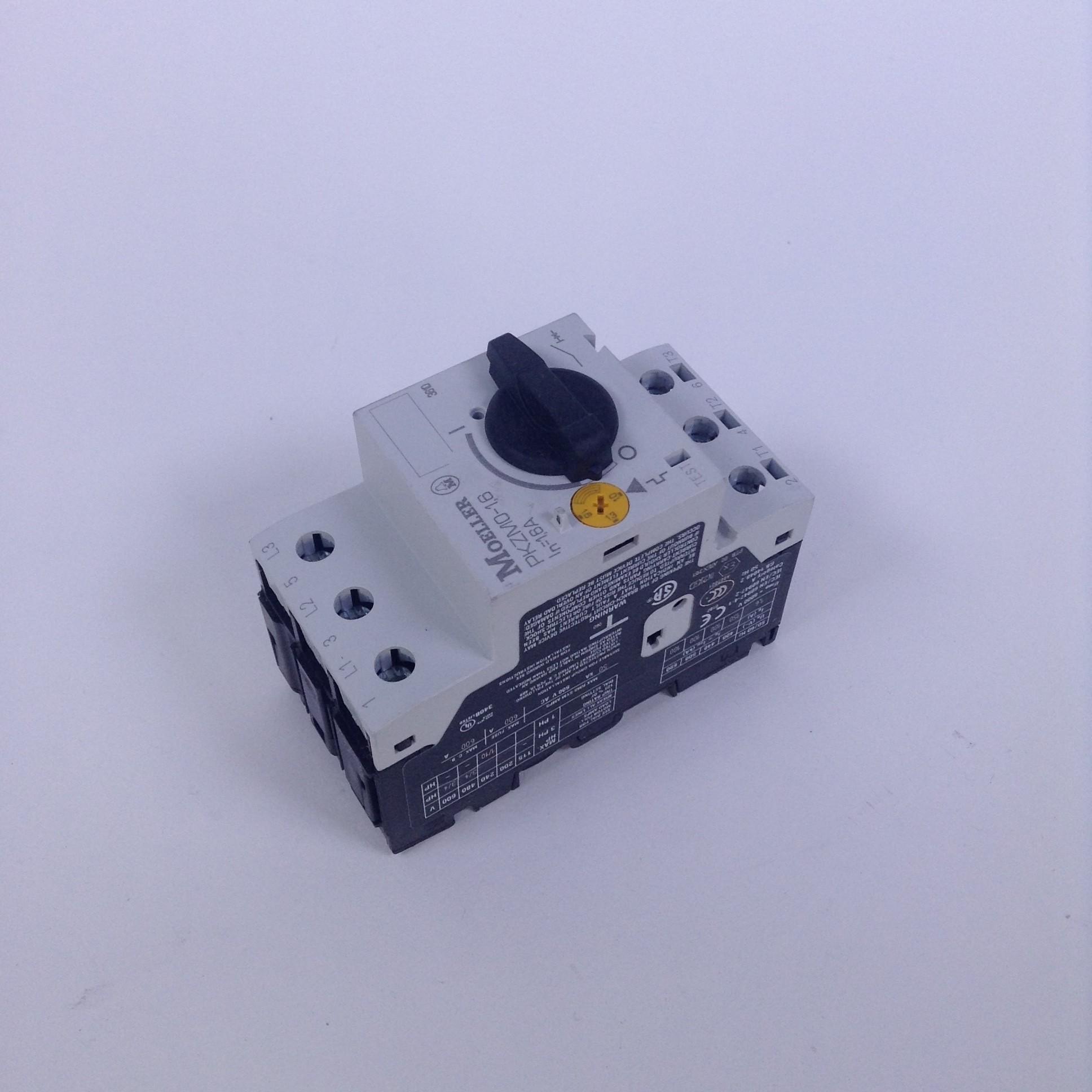 Moeller Motorschutzschalter PKZMO-1,6  1,0. 1,6A unused//OVP