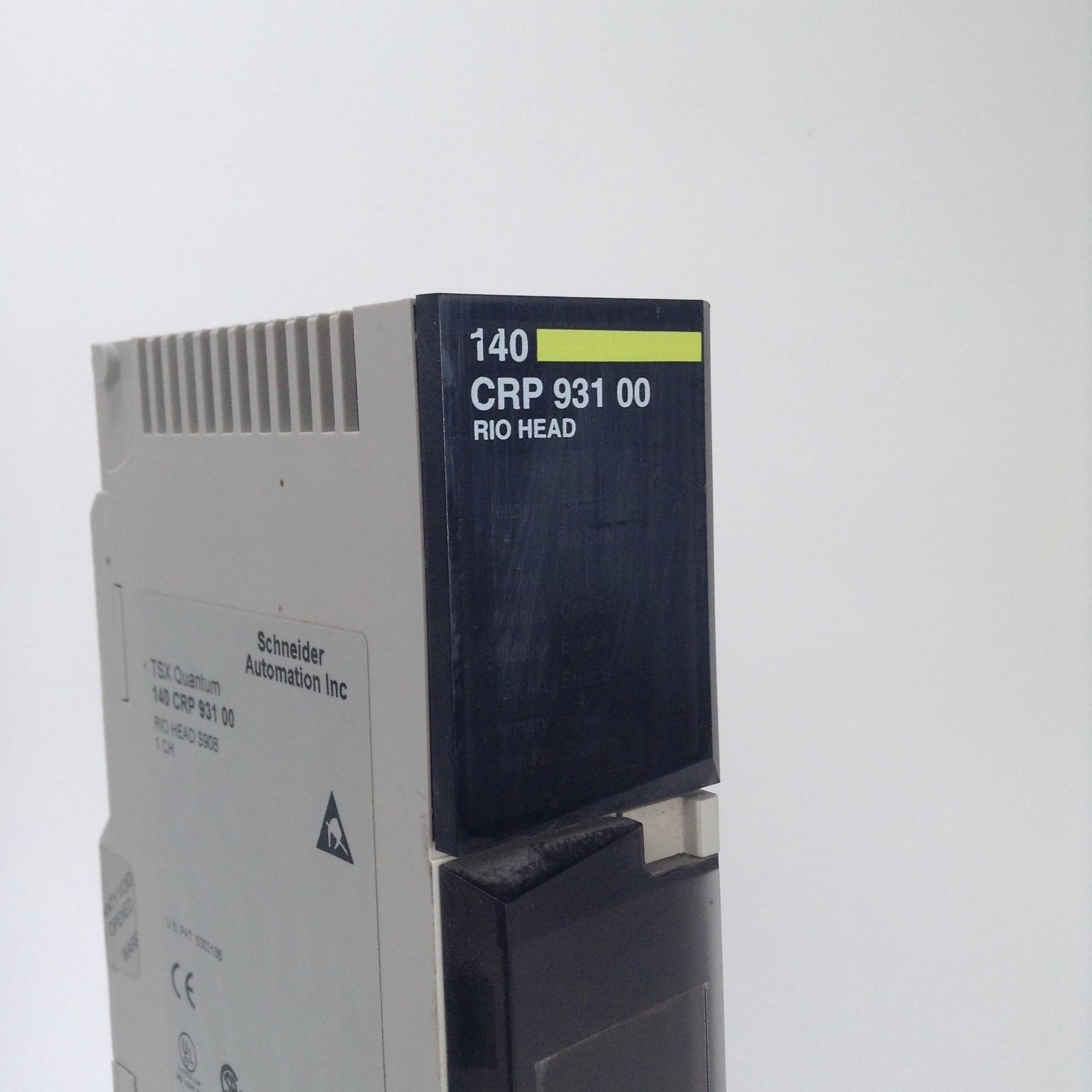 Schneider TSX Quantum 140CRP93100 RIO HEAD 140 CRP 931 00 USED