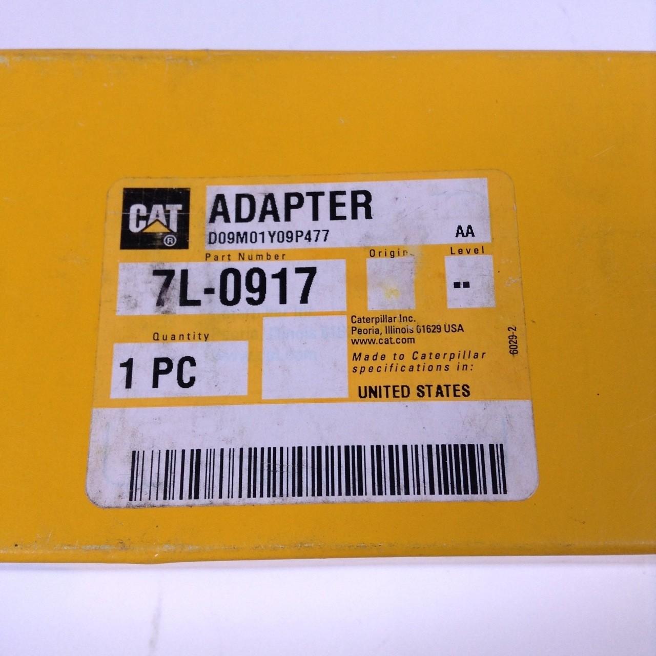 Caterpillar 7L-0917 Adapter NEW NFP