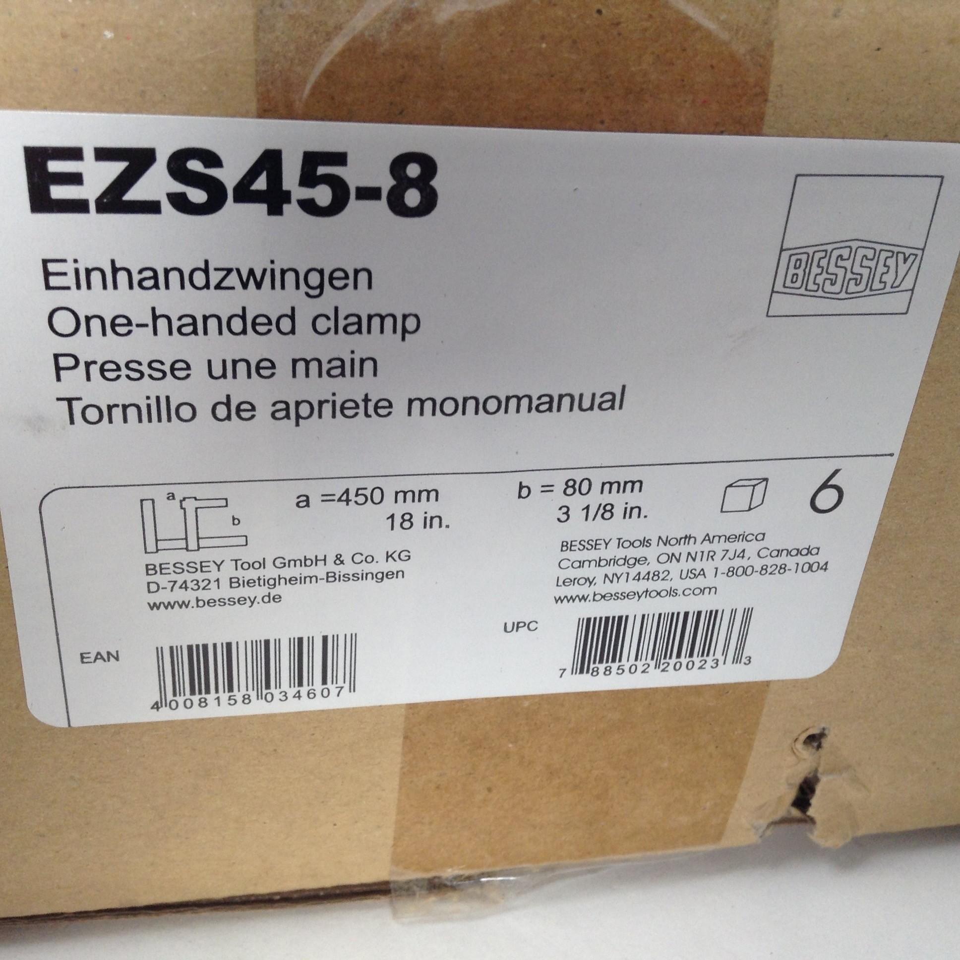 Bessey EZS30-8 Tornillo de apriete monomanual