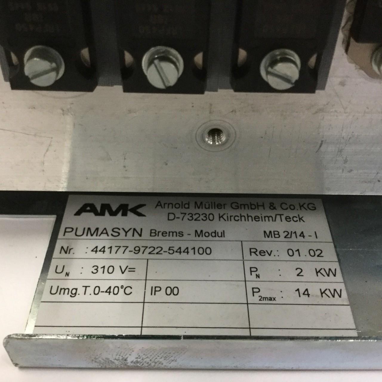 Amk Pumazyn MB2//14-I Brake Module Brems Modul Used UMP