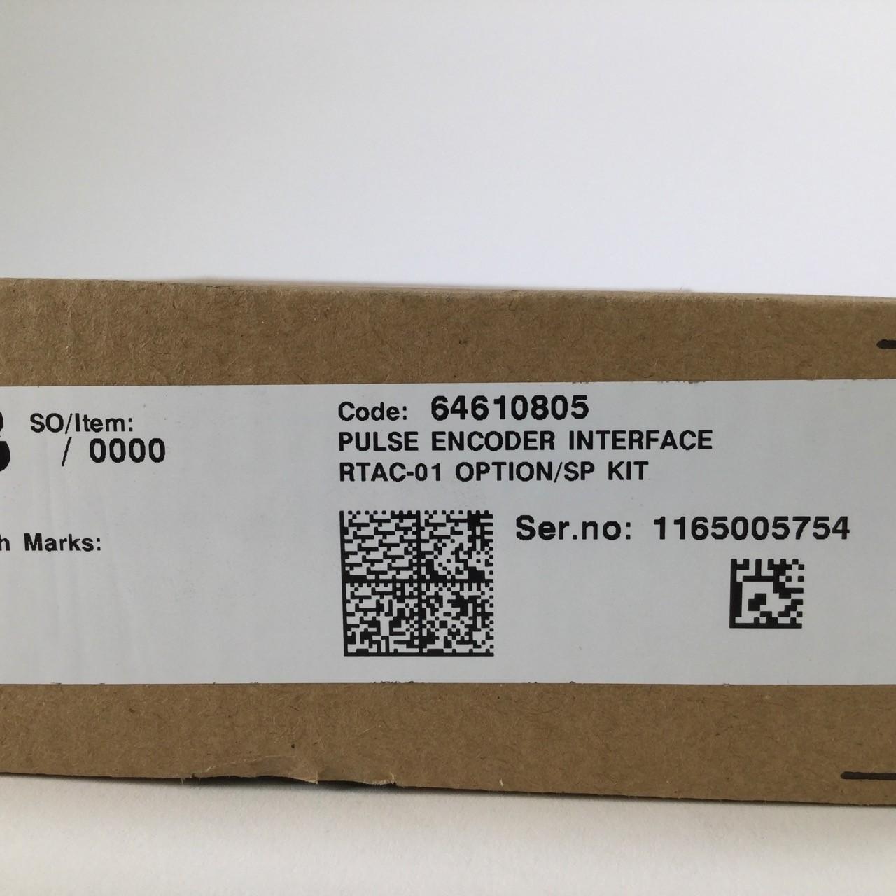 Abb 64610805 Pulse Encoder Interface RTAC-01 Option//SP kit New NFP